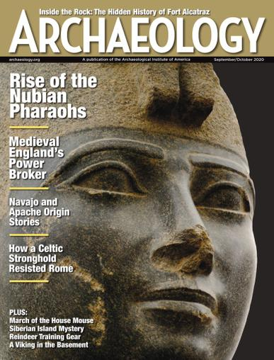 Archaeology Magazine September 1st, 2020 Issue Cover