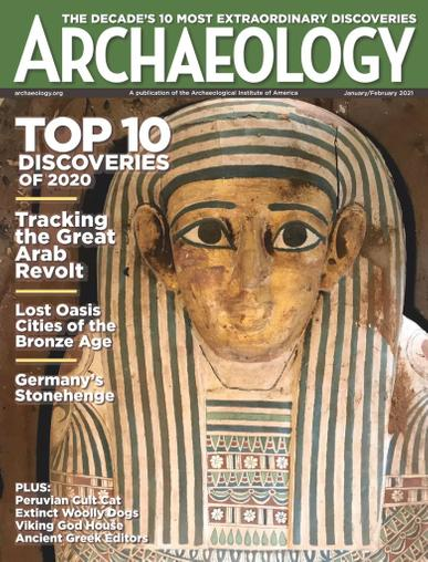 Archaeology Magazine January 1st, 2021 Issue Cover