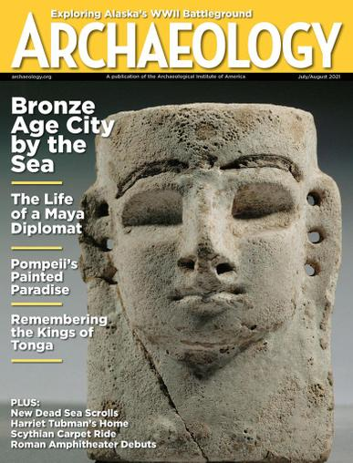 Archaeology Magazine July 1st, 2021 Issue Cover