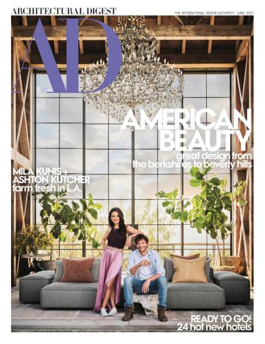 Architectural Digest Magazine June 1st, 2021 Issue Cover