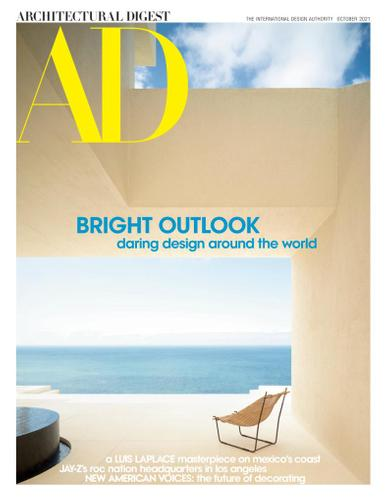Architectural Digest Magazine October 1st, 2021 Issue Cover