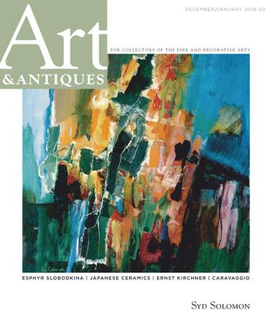 Art & Antiques Magazine December 1st, 2019 Issue Cover
