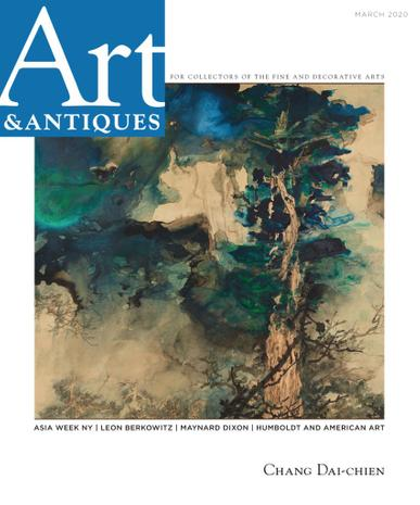 Art & Antiques Magazine March 1st, 2020 Issue Cover