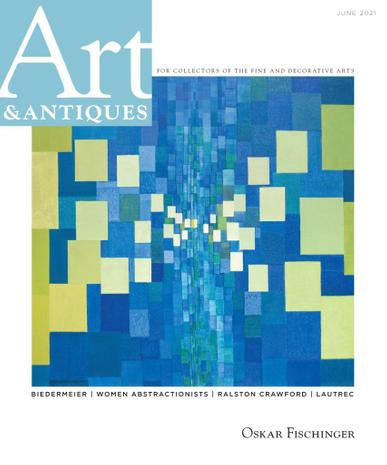 Art & Antiques Magazine June 1st, 2021 Issue Cover