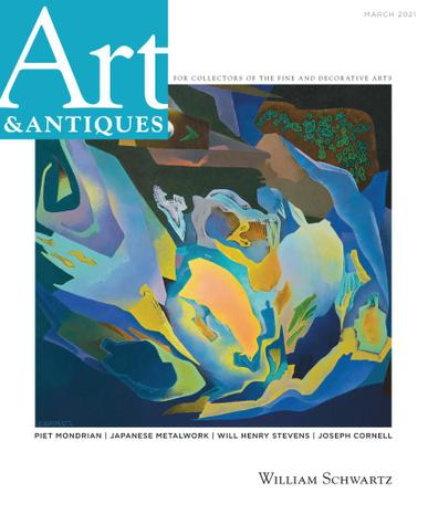 Art & Antiques Magazine March 1st, 2021 Issue Cover