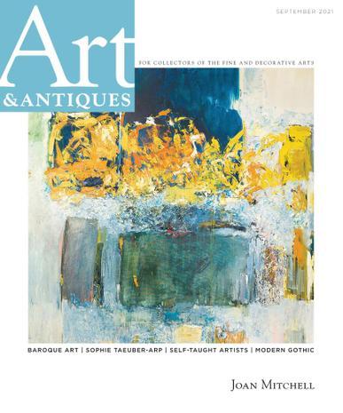 Art & Antiques Magazine September 1st, 2021 Issue Cover