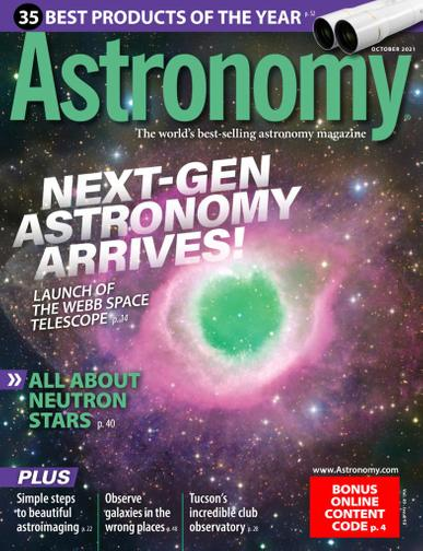 Astronomy Magazine October 1st, 2021 Issue Cover