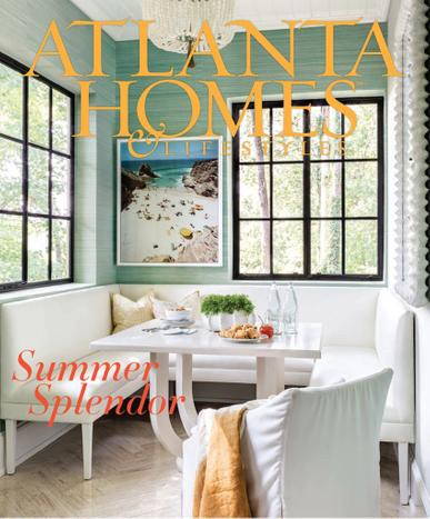Atlanta Homes & Lifestyles Magazine August 1st, 2020 Issue Cover