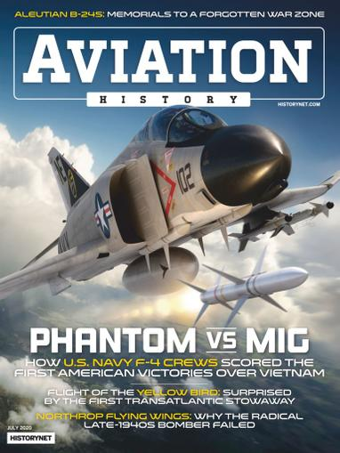 Aviation History Magazine July 1st, 2020 Issue Cover