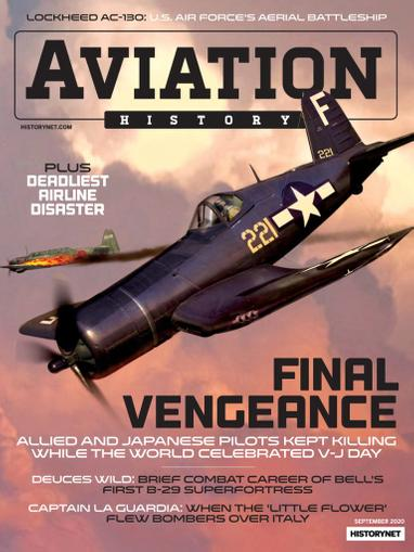 Aviation History Magazine September 1st, 2020 Issue Cover