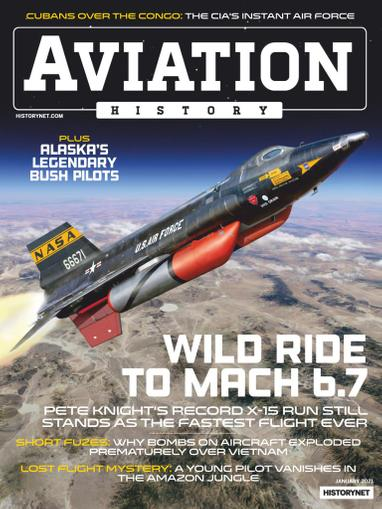 Aviation History Magazine January 1st, 2021 Issue Cover