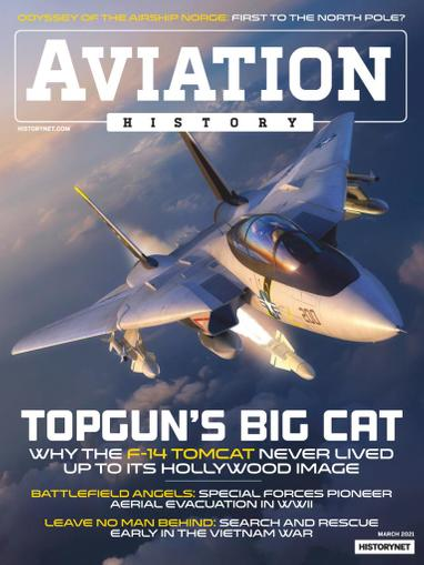 Aviation History Magazine March 1st, 2021 Issue Cover