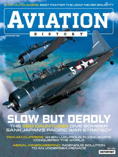 Aviation History Magazine May 1st, 2021 Issue Cover