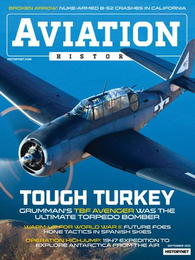Aviation History Magazine September 1st, 2021 Issue Cover