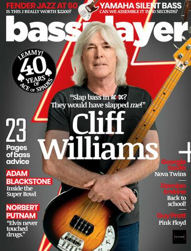 Bass Player Magazine December 1st, 2020 Issue Cover
