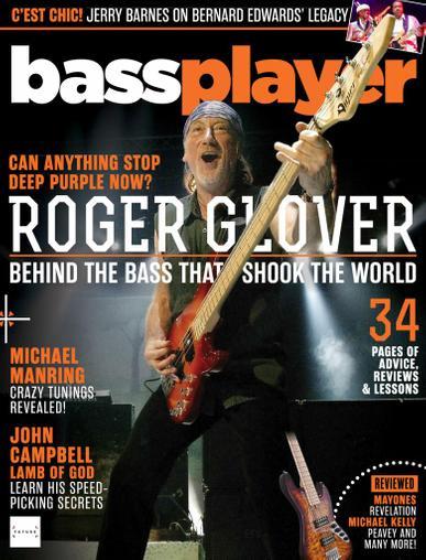 Bass Player Magazine September 1st, 2020 Issue Cover