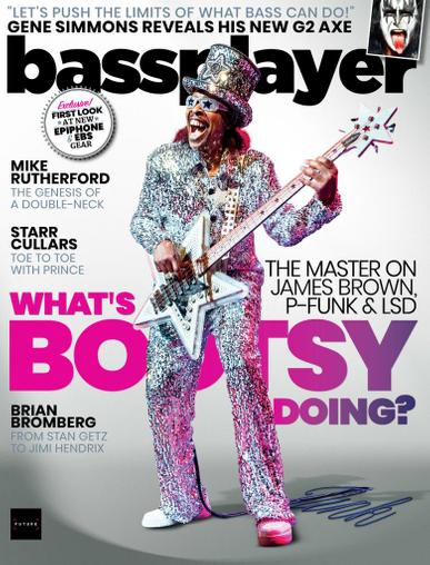Bass Player Magazine April 1st, 2021 Issue Cover