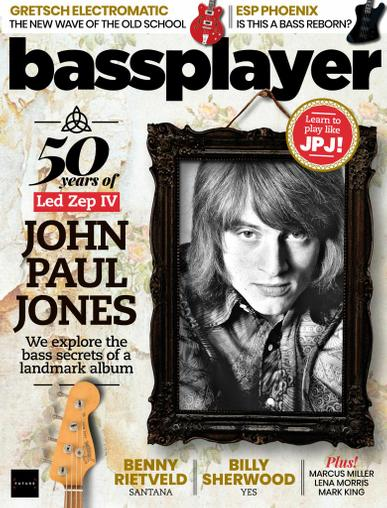 Bass Player Magazine July 1st, 2021 Issue Cover