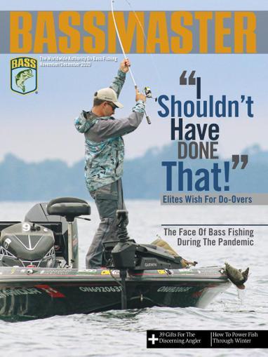 Bassmaster Magazine November 1st, 2020 Issue Cover