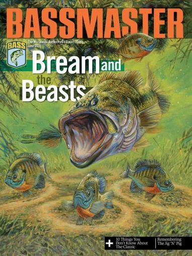 Bassmaster Magazine June 1st, 2021 Issue Cover