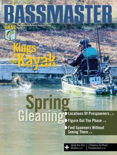 Bassmaster Magazine March 1st, 2021 Issue Cover