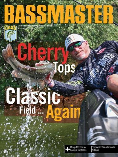 Bassmaster Magazine September 1st, 2021 Issue Cover