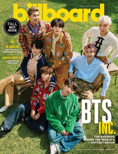Billboard Magazine August 28th, 2021 Issue Cover