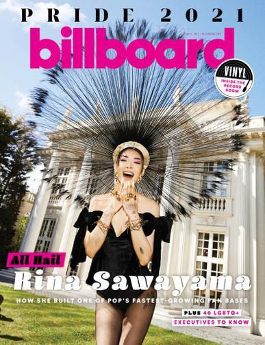 Billboard Magazine June 5th, 2021 Issue Cover