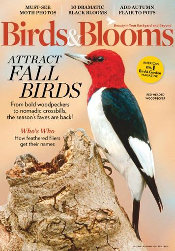 Birds & Blooms Magazine October 1st, 2020 Issue Cover