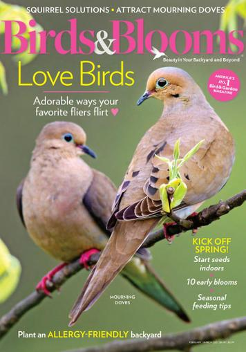 Birds & Blooms Magazine February 1st, 2021 Issue Cover
