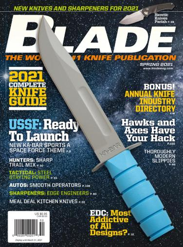Blade Magazine December 15th, 2020 Issue Cover