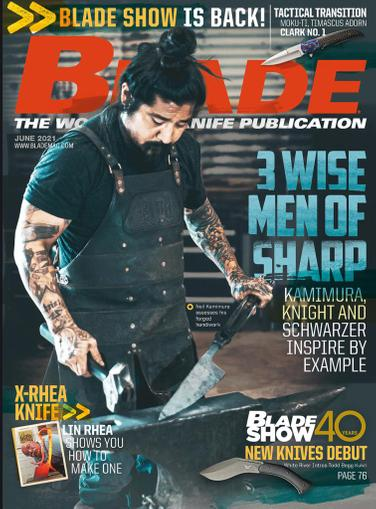 Blade Magazine June 1st, 2021 Issue Cover