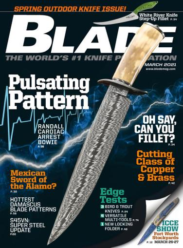 Blade Magazine March 1st, 2021 Issue Cover