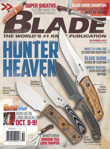 Blade Magazine October 1st, 2021 Issue Cover