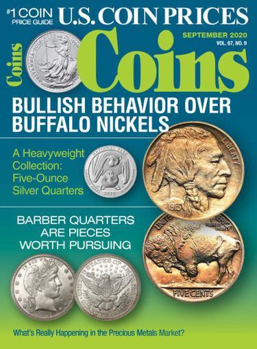 Coins Magazine September 1st, 2020 Issue Cover