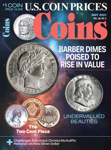 Coins Magazine May 1st, 2021 Issue Cover