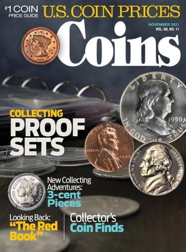 Coins Magazine November 1st, 2021 Issue Cover
