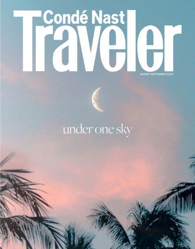 Conde Nast Traveler Magazine August 1st, 2020 Issue Cover