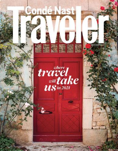 Conde Nast Traveler Magazine December 1st, 2020 Issue Cover