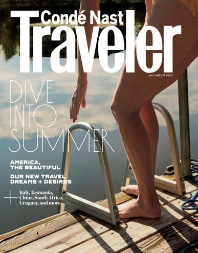 Conde Nast Traveler Magazine July 1st, 2021 Issue Cover