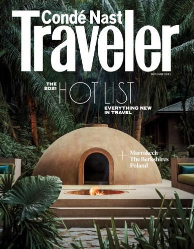 Conde Nast Traveler Magazine May 1st, 2021 Issue Cover