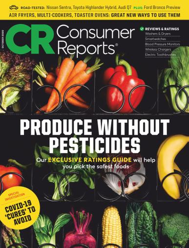 Consumer Reports Magazine October 1st, 2020 Issue Cover
