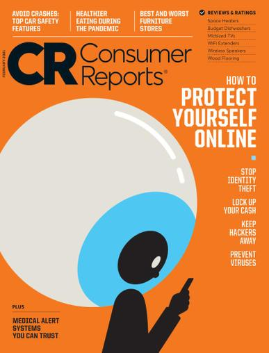 Consumer Reports Magazine February 1st, 2021 Issue Cover