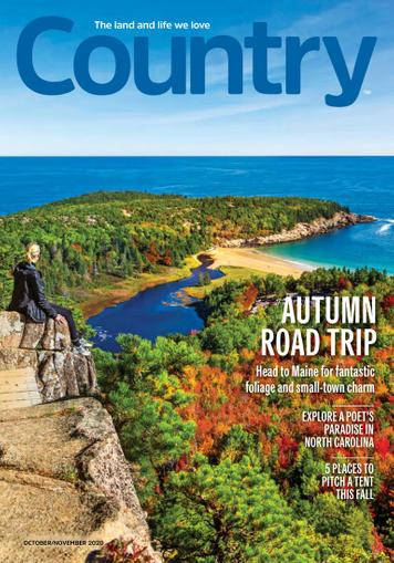 Country Magazine October 1st, 2020 Issue Cover