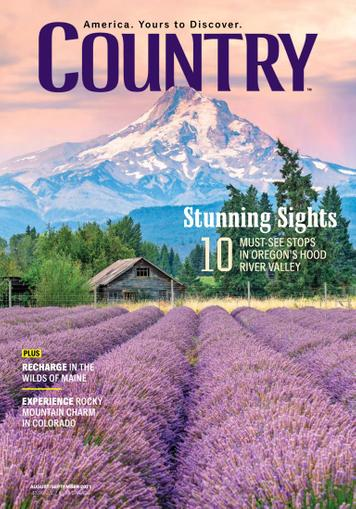 Country Magazine August 1st, 2021 Issue Cover