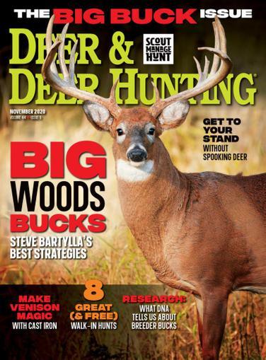 Deer & Deer Hunting Magazine November 1st, 2020 Issue Cover