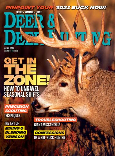 Deer & Deer Hunting Magazine April 1st, 2021 Issue Cover