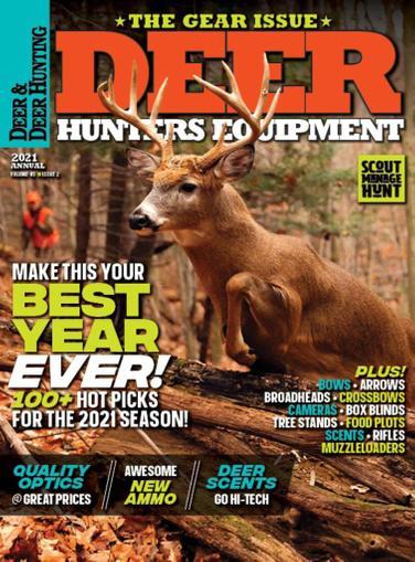 Deer & Deer Hunting Magazine June 4th, 2021 Issue Cover