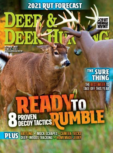 Deer & Deer Hunting Magazine October 1st, 2021 Issue Cover