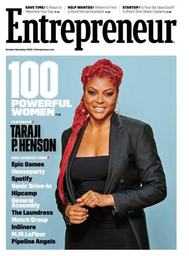 Entrepreneur Magazine October 1st, 2020 Issue Cover